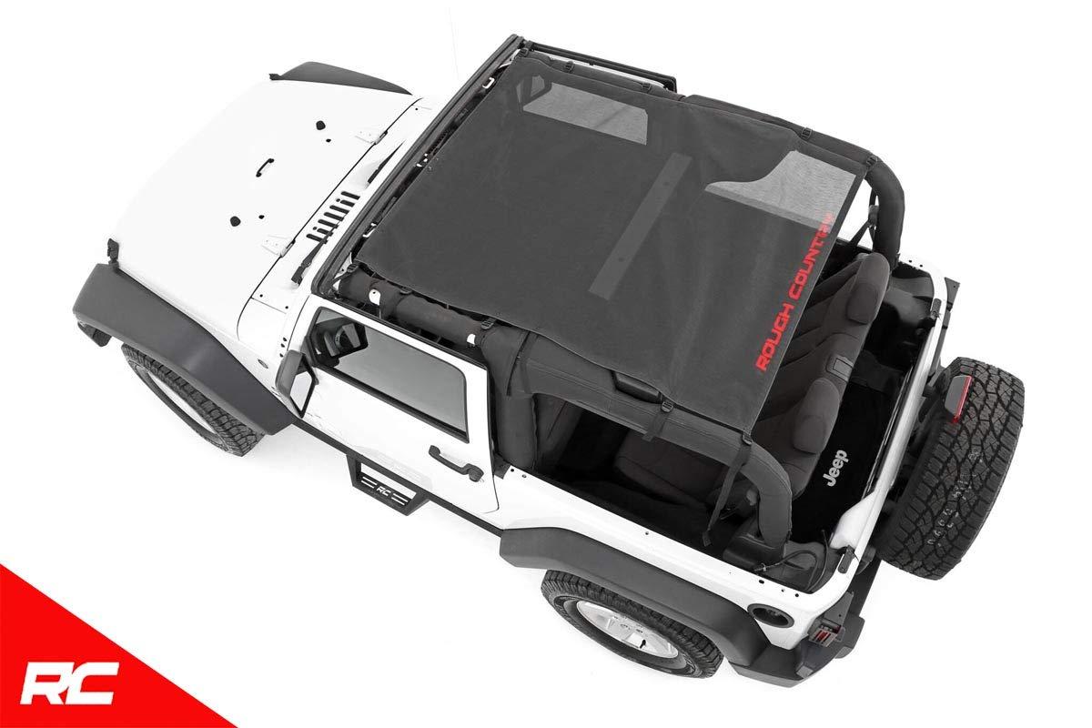 Amazon.com: Rough Country Malla Bikini Top Plus para Jeep ...