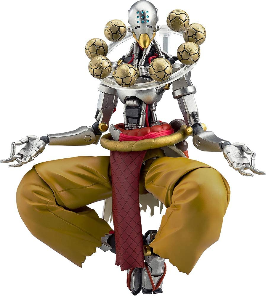 Good Smile Company Overwatch: Zenyatta Figma Action Figure, Multicolor