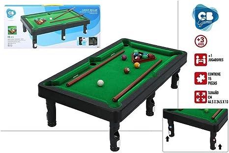 ColorBaby Juego Billar 44.5x24.5x13 Cm: Amazon.es: Juguetes y juegos