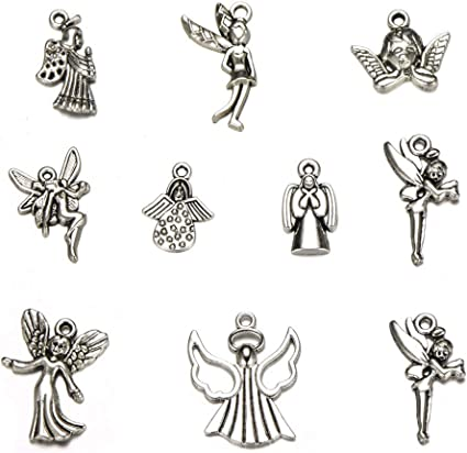 Lots Tibetan Silver Mix Charm Pendants Jewelry Making DIY Handmade Crafts Beads