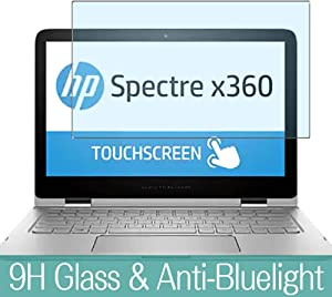 "Synvy Anti Blue Light Tempered Glass Screen Protector for HP Spectre x360 13-4000 / 4003dx / 4005dx / 4013tu / 4001ng / 4007na / 4001ng 13.3"" Visible Area Screen Film Protectors"