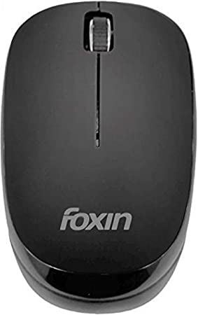Foxin FWM9009 USB Wireless Optical Mouse  Black  Mice
