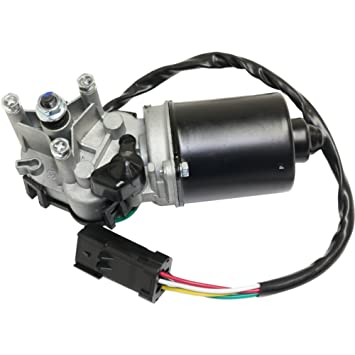 evan-fischer eva31310261511 Motor para limpiaparabrisas para Jeep Wrangler (TJ) 97 - 02 delantera motor sin arandela bomba: Amazon.es: Coche y moto