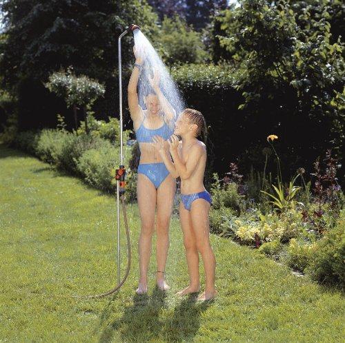 Gardena 961 Outdoor Portable Garden Shower Solo On Spike