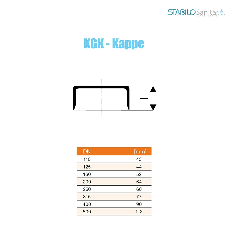 KG Kappe DN 125