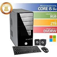 Computador Premium Brazil Intel Core I5 8gb Ddr3 HD 2Tb DVDRW Windows + KIT