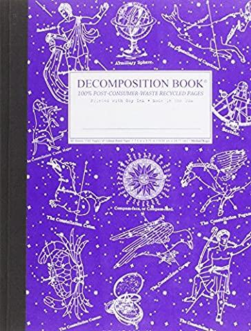Decomposition Book: Celestial College-Ruled (Galaxy College Ruled Notebook)