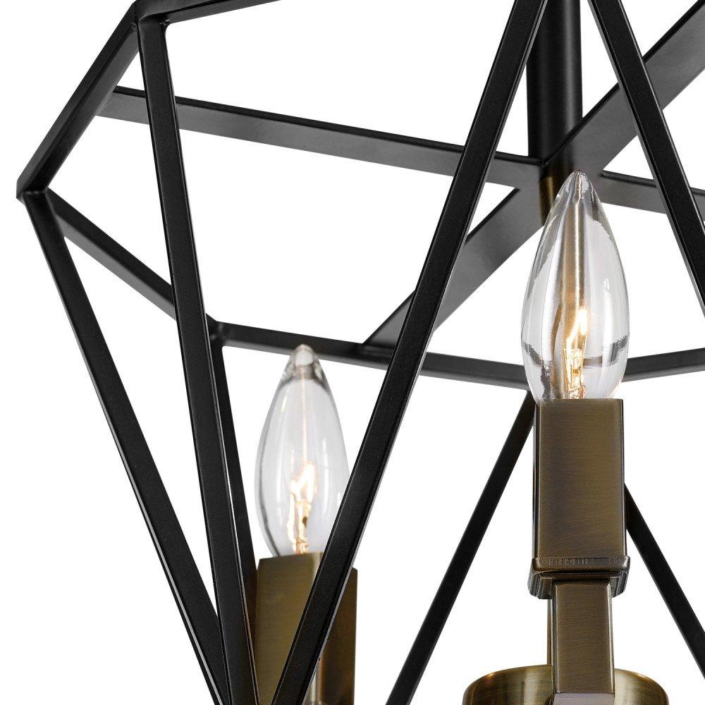 Amazon.com: Globe Electric 65979 semi-flushmount, bronce ...