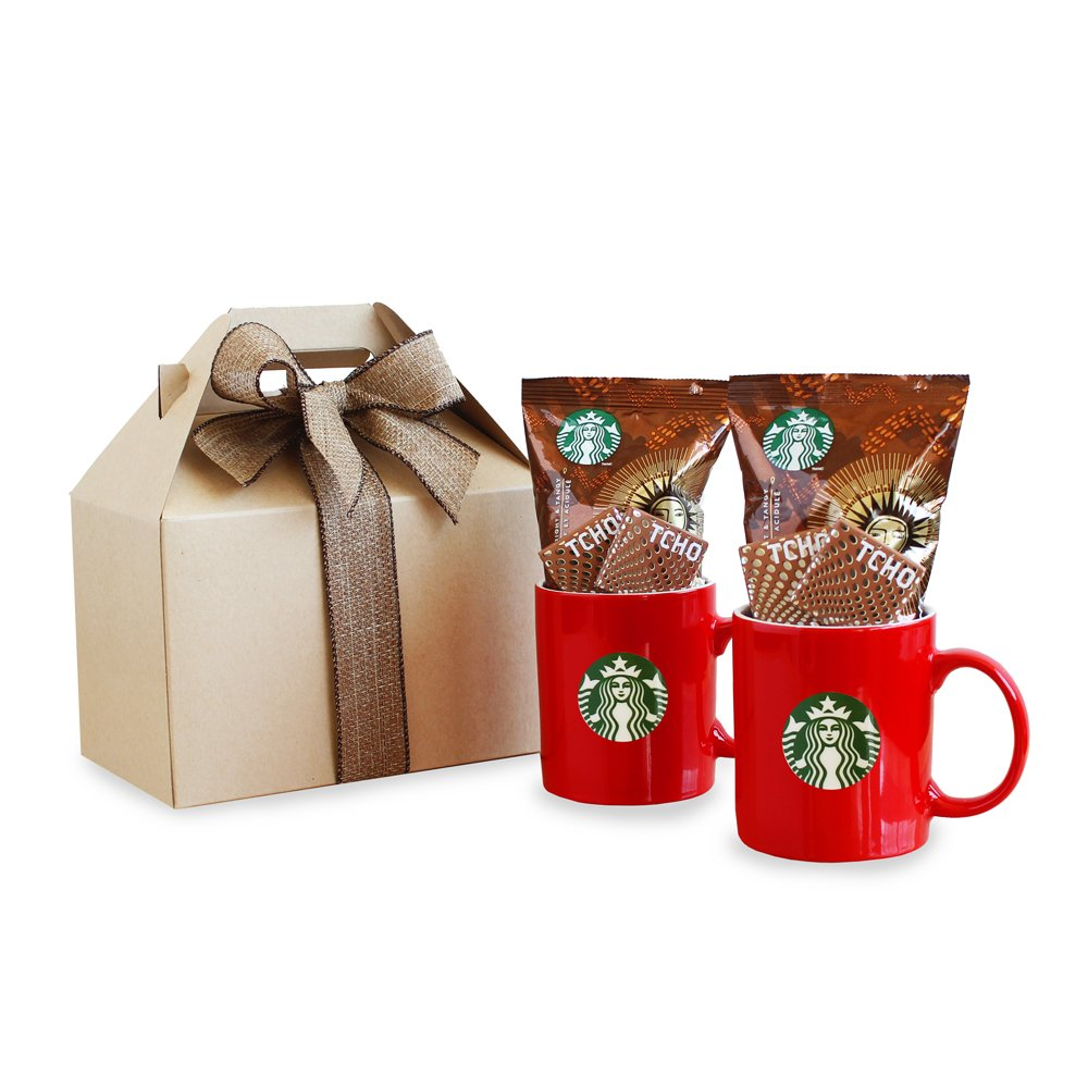 California Delicious Starbucks Care Package Gift Basket Ebay
