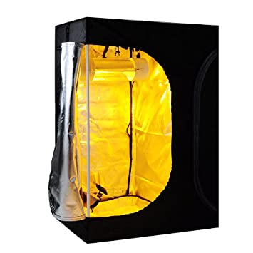 2-in-1 100% Reflective Mylar Hydroponics Indoor Grow Tent Propagation and Flower  sc 1 st  Amazon.com & Amazon.com : 2-in-1 100% Reflective Mylar Hydroponics Indoor Grow ...