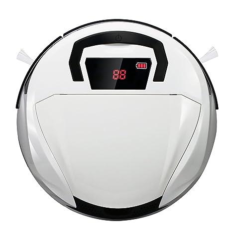 Aspiradora inteligente, Robot aspiradora para pisos, Robot barredor inalámbrico con ponderosa aspiradora casera robótica