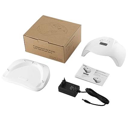 Lámpara profesional del secador del clavo LED del polaco del gel Sensor Infared del movimiento Lámpara