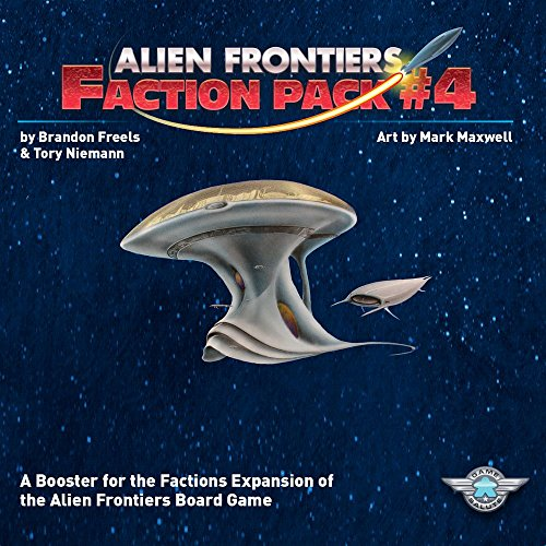 Alien Frontiers: Faction Pack #4 by Game Salute