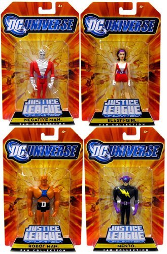 DC Universe Justice League Unlimited: Doom Patrol 4er Actionfiguren-Set