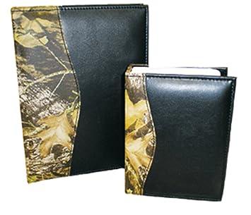 leather camo 100 picture 4 x 6 photo album