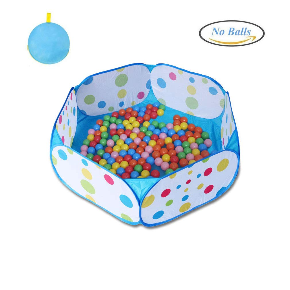 Karida Kids Ball Pit, Large Pop Up Toddler Ball Pits Tent for Toddlers, Children for Indoor Outdoor Baby Ball Pool Playpen with Zipper Storage Bag, Balls Not Included