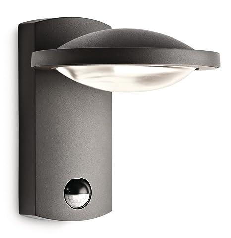 Freedom Anthracite Extérieur Détection Philips Avec Luminaire Led Applique FclK1J
