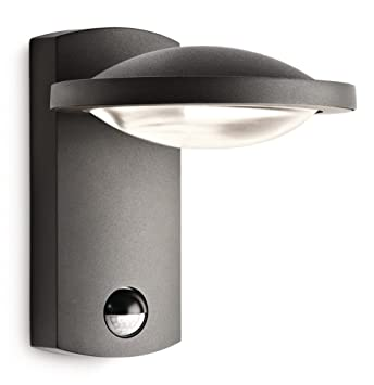 Philips ledino led outdoor wall light 1 x 3 w amazon garden philips ledino led outdoor wall light 1 x 3 w mozeypictures Image collections