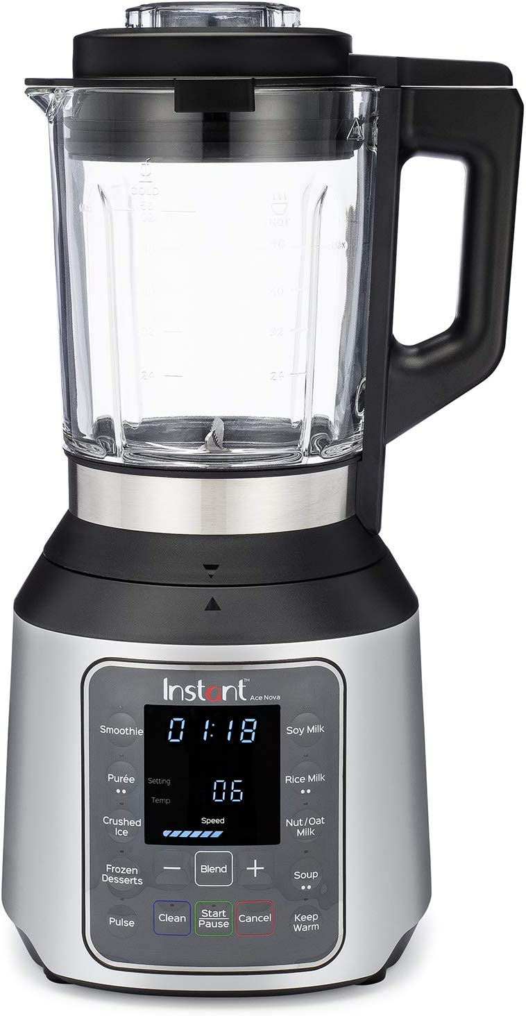 Instant Ace Nova Cooking Blender, Hot and Cold, 9 One Touch Programs, 56 oz, 1000W