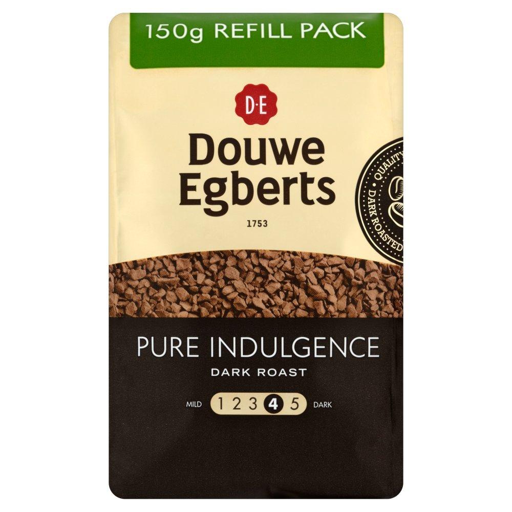 Douwe Egberts Pure Indulgence Dark Roast Coffee Refill 150g
