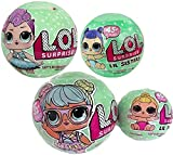 Bundle of Lets Be Friends! - Series 2 Wave 1 & 2 LOL Surprise Doll and Her Lil Sister - Total of 4 Dolls