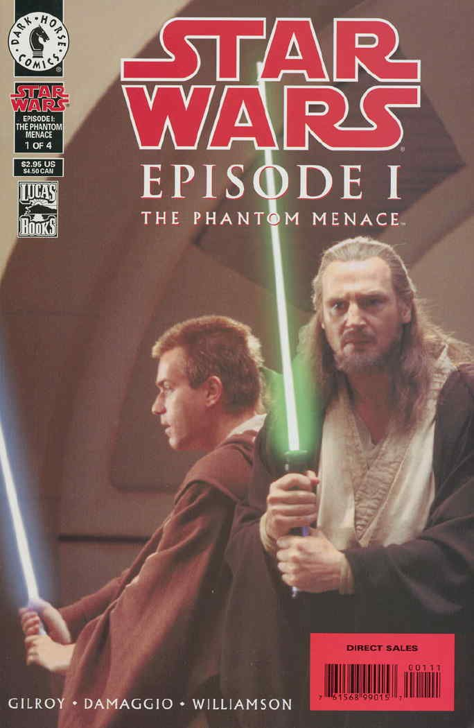 Star Wars Episode I The Phantom Menace 1999 1 Sc Amazon Com Books