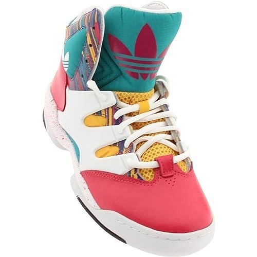 Adidas Glc Moda Top del Alto de los Zapatos de Las Zapatillas de Deporte Originales: Amazon.es: Zapatos y complementos