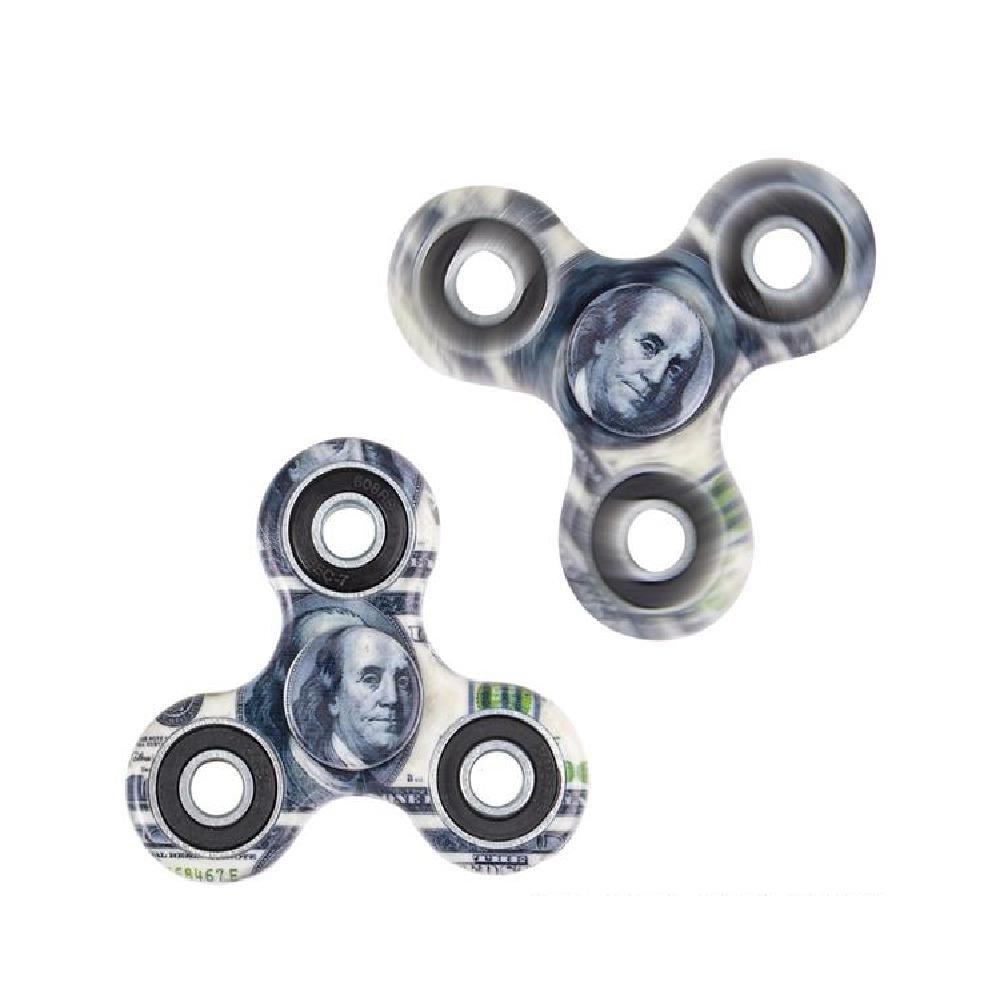 3'' Hundred Dollar Bill Hand Spinner