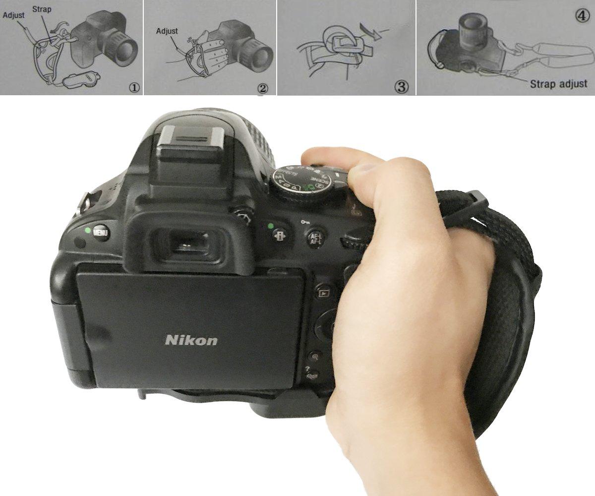 Bestele - Correa de hombro para cámara réflex digital/SLR/Nikon ...