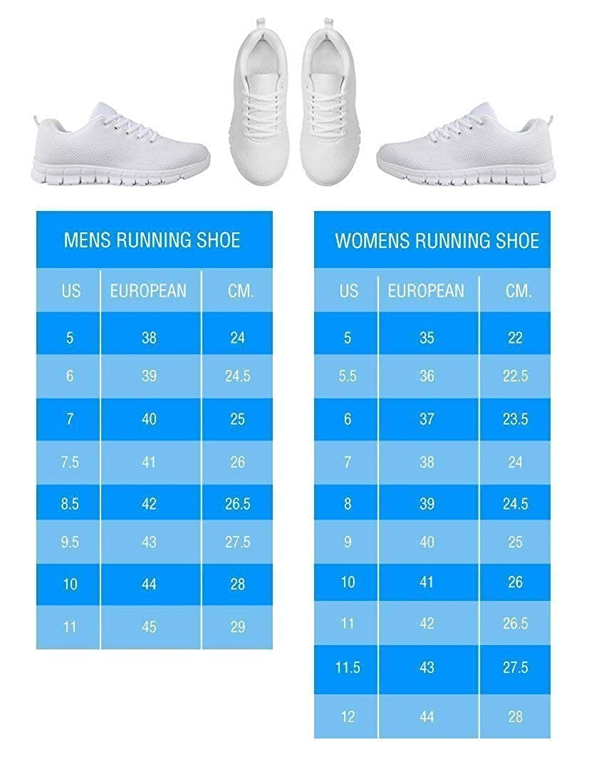 Pawlion Two Guns with Border Terrier Print Running Shoes for Women-Casual Comfortable Sneakers Running Shoes
