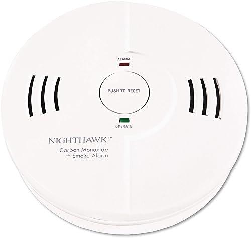 Kidde Night Hawk Combination Smoke Co Alarm W Voice Alarm Warning Safety Devices