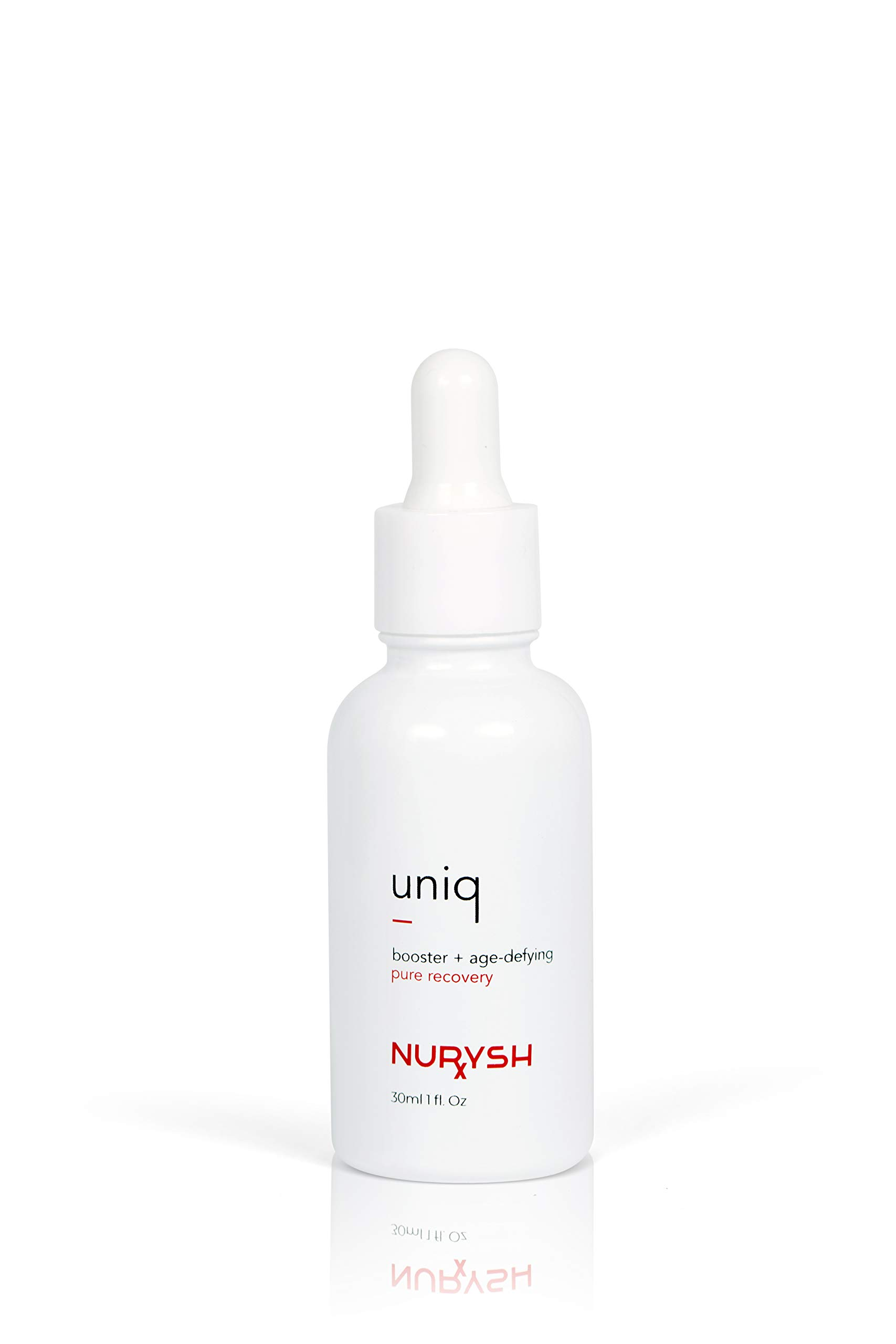 UNIQ Pure Recovery by Nurysh, Skin Booster & Age Defying Serum, Contains Vitamin C, Hyaluronic Acid, Retinol and Niaminicide