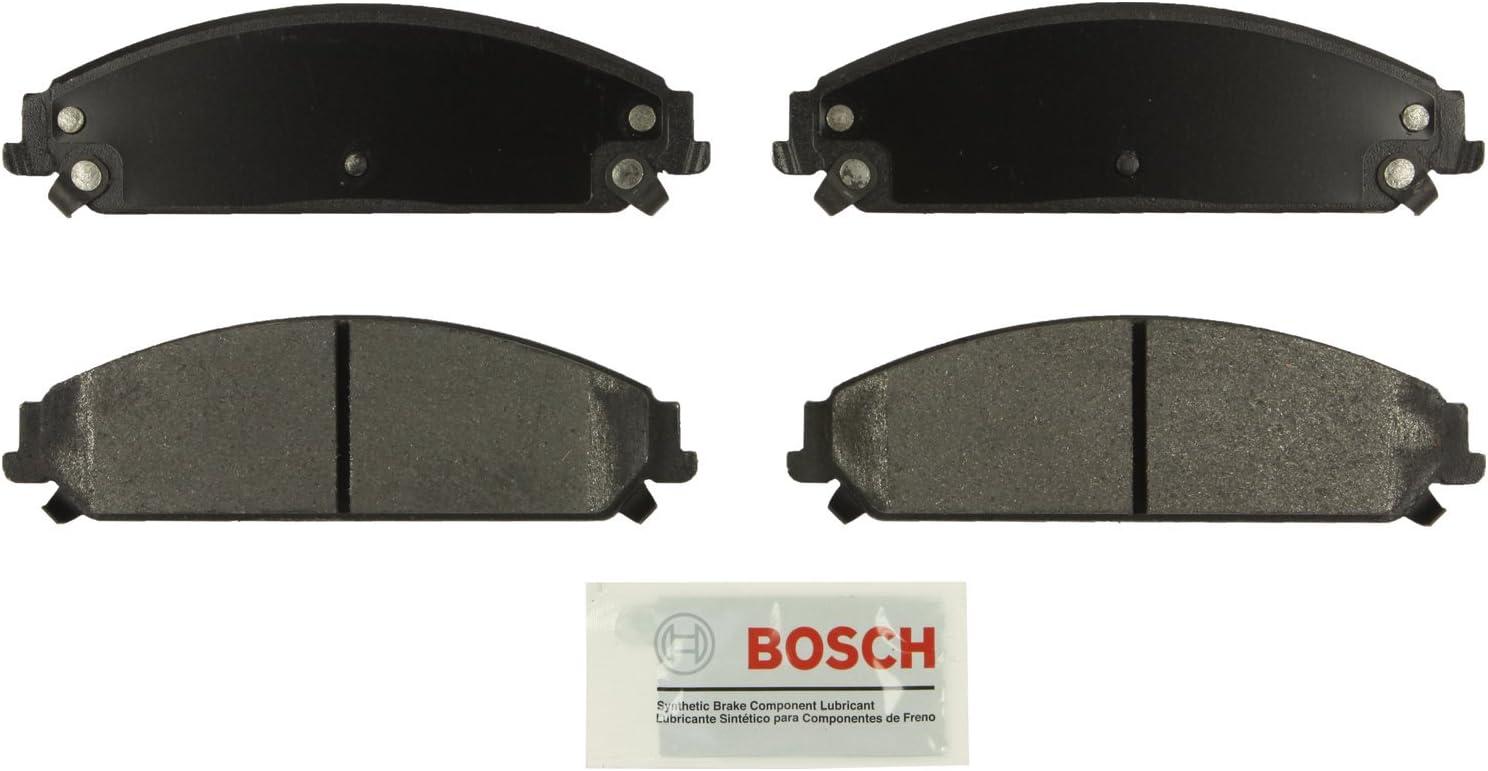 For Chrysler 300 Dodge Charger Challenger Rear Blue Brake Disc Pads BoschA