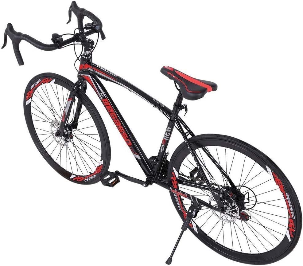 Full Mountain Bikes with 21 Speed ​​Disc Brakes 700c Ship from USA MTB with 700c Wheels Suitable for Adults and Teenager GFHFHITJ Shimanos Aluminum Full Suspension Road Bike