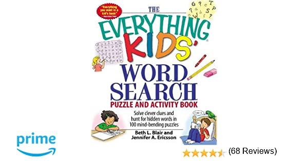 The Everything Kids' Word Search Puzzle and Activity Book: Solve ...