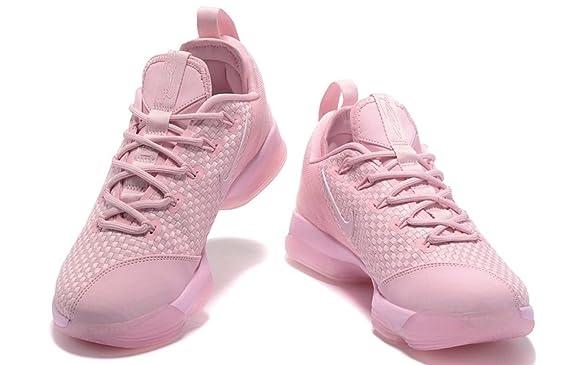 dc3aa4ae37e Nike 878636-600 Lebron XIV Low Prism Pink Mens Basketball Shoes Size 13  (13)  Amazon.ca  Shoes   Handbags