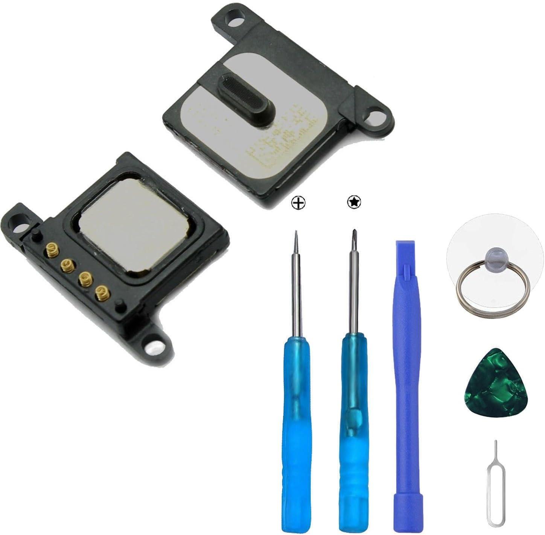 Xlhama Auricular Altavoz Interno Compatible con iPhone 6 Speaker de Repuesto con Kit Desmontaje transformación de reemplazo con Completa + Herramientas Incluidas
