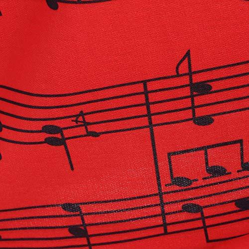 Manches Longues imprime Blouse Chemise ALIKEEY Femme Longues Manches Hiver Blanche rouge Femme Longues Taille Manches Grande Manteau Oqg6wPAxq