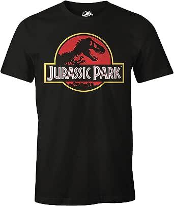 cotton division T-Shirt Jurassic Park Camiseta para Hombre