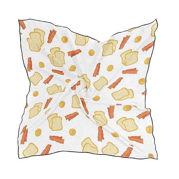 LUPINZ bufanda ligera con diseño de pañuelos y huevos para el ...