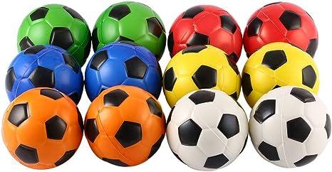 12 Pelotas de Espuma para aliviar el estrés de fútbol, para ...