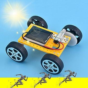 Amazon com : Onefa Solar Car - DIY Assemble Toy Set Solar