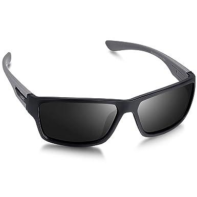 LZXC Gafas de Sol Polarizadas Para Hombre con Montura Ultraligera, Protección UV400 Para Conducir, Ciclismo