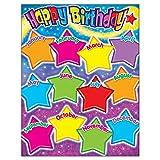owl birthday chart for classroom - TREND enterprises, Inc. Happy Birthday Gumdrop Stars Learning Chart, 17