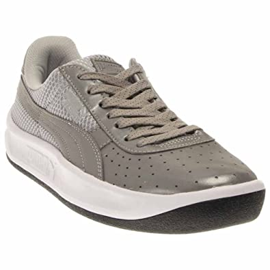 2018 Discount Puma Gv Special Iridescent Men Round Toe Synthetic Black Sneakers Mens Black Puma Mens Sneakers