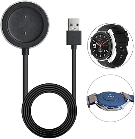 Womdee Charging Dock Cradle for Amazfit GTR Charger, Watch Charger Replacement Charging Stand Compatible with Amazfit GTR Smart Watch Charging Stand