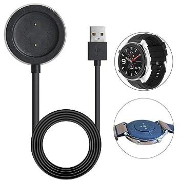 Womdee Base de Carga para el Cargador Amazfit GTR, Soporte de Carga de Repuesto Watch Charger Compatible con Soporte de Carga Amazfit GTR Smart Watch