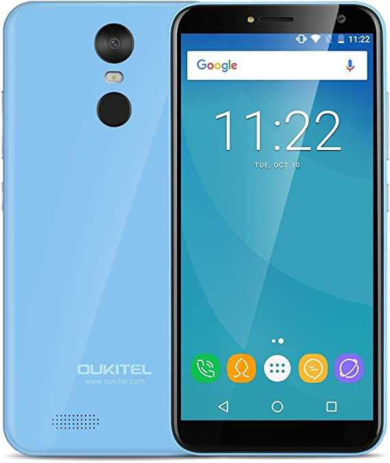 OUKITEL C8-3G Smartphone Libre (Android 7.0, 5.5