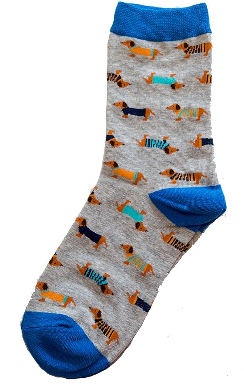 - Amazon.com: A Walk In The Dog Park Dachshund Socks (Blue): Clothing