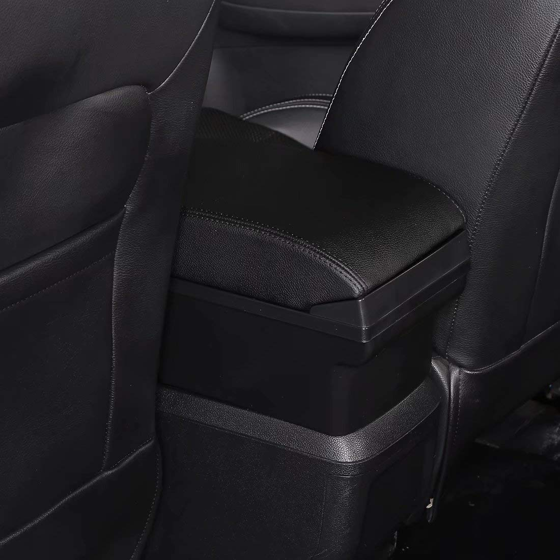HRCHCG for Nissan Juke Consoles Armrest Box Double Layer Storage with 3 USB Port